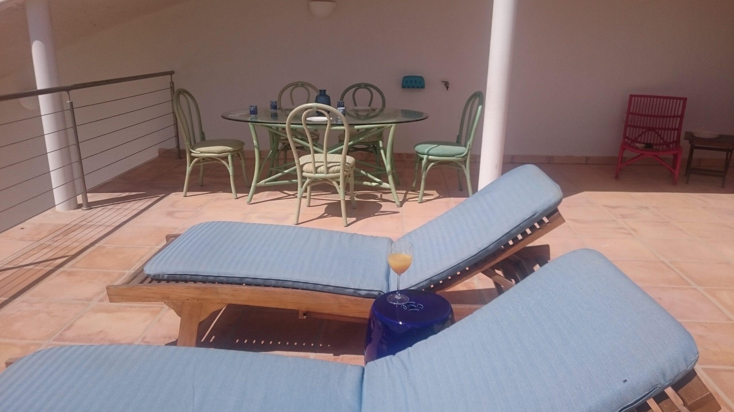 Bahia Azul, Dachterrasse