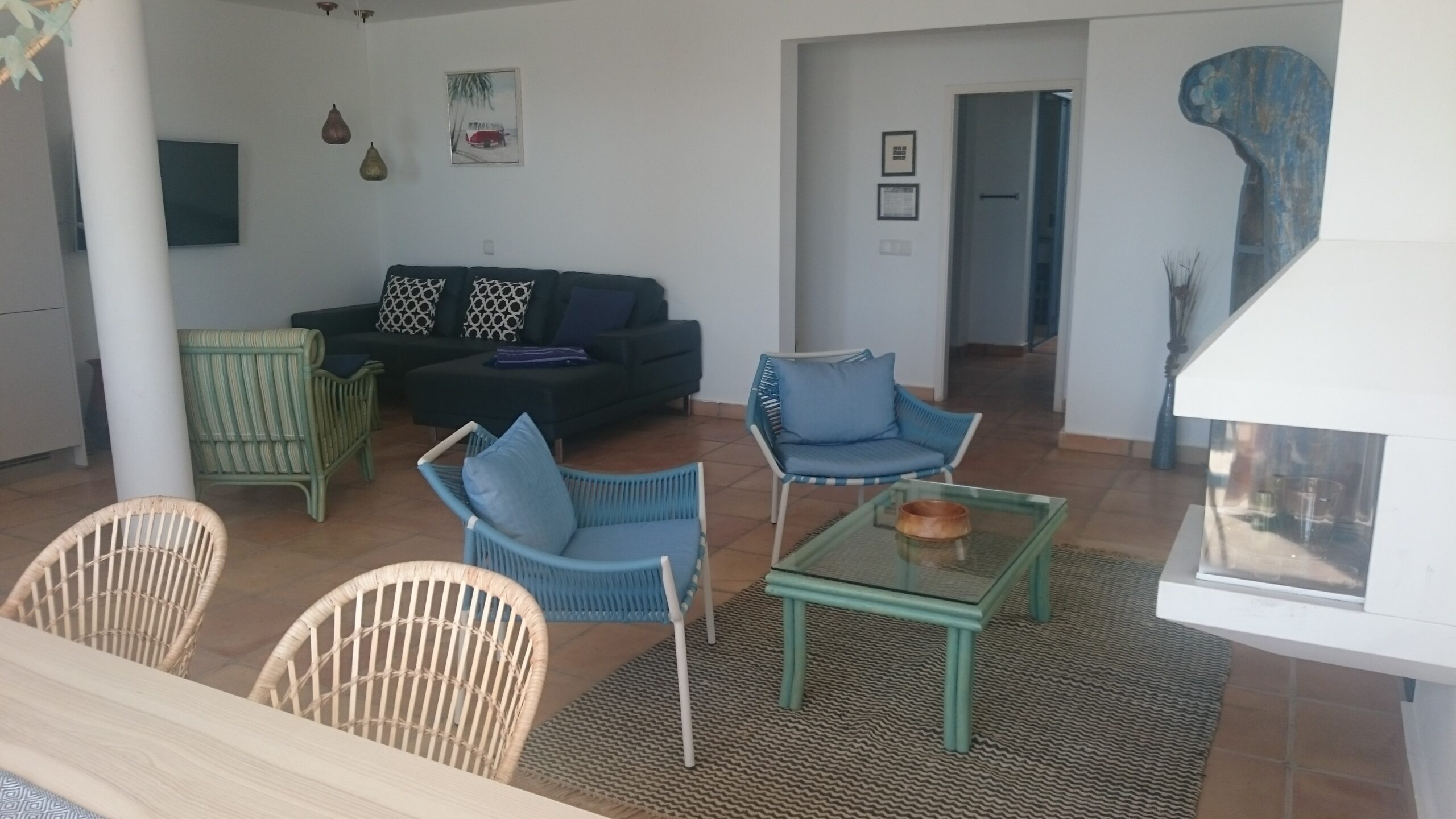 Bahia Azul, Wohnraum